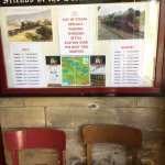 A must for railway enthusiasts and those who like countryside views