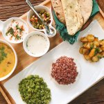 Suananda Ayurveda -  Our Lentil Soup (Daal) and Vegetable Sabzi changes everyday :)