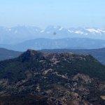 vue sur les Alpes du sommet du Ventoux