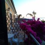 il balcone della stanza