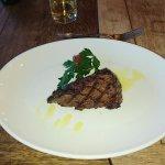 Fillet steak, one half medium, one half rare - not requested that way !!!