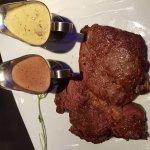 Ribeye and Fillette steaks