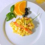 Smoke Salmon and Scrambled egg