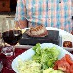 Fillet Steak on the rocks