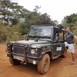 The safari Land Rover