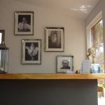 Reception area - cool photos are everywhere!
