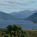 View of Loch Broom from the B&B