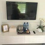 Refreshment/TV area