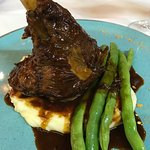 Lamb shank with great sauce...