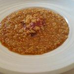 Arroz caldoso con Bogavante (tomate y más tomate)