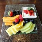 Fruit plate very fresh