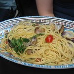 La Perla : Spaghetti aux palourdes