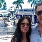 ROSARIO CASSATA AND CAROLYN AT THE MIROMAR OUTLETS IN ESTERO, FLORIDA