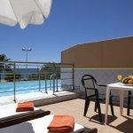 Piscina privada Suites Playa
