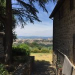Orvieto in the distance