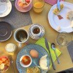 Fresh and lovely breakfast