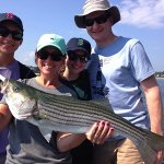 Family fishing trips at the Nonantum with Capt. Bruce