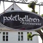 Foto de Potetkjelleren Restaurant