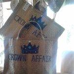 Crown Affair - custom design beach bags for a local home in Harbour Island