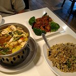 Spicy Sweet and Sour Soup, Lemongrass Deluxe and Royal Fried Rice
