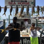 Fishing with Captain Rick And First Mate Phill Sea Horse Private Charter