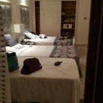 Threbed room. Enoug place