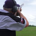 Sporting Clay Shooting. Range coach ear defenders eye protection guns and ammo included in the p