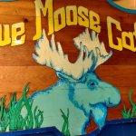 Blue Moose sign