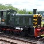 This little diesel shunter is around sixty years old and running well.