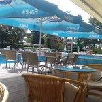 Restaurant and pool bar