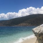 Lovely little secluded beach/coves, just below the hotel, crystal clear water. Beach shoes neede