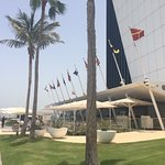 Another view from the rear of Burj Al Arab