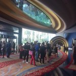 1st floor lobby entrance of Burj Al Arab