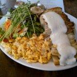 Mo:Lé Restaurant-Joe's Potato Gratin with Eggs and Béchamel