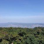 Overlooking San Salvador from side of Quezaltepeque volcano