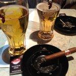 Cigar and Dos Cervezas SVP