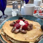 Vanilla Malt Pancakes