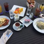 A la carte options for breakfast inclusive with room rate