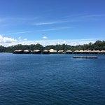 Ocean villa room and view + around the resort