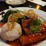 Teriyaki Salmon. Very tasty