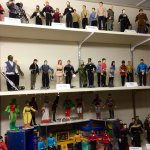 Star Trek dolls at a mining museum! Awesome!