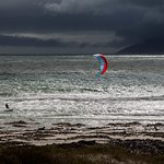 Kite surfer.