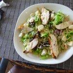 My friend's chicken Caesar salad