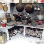 a shophouse kitchen