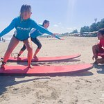 Week of surf, sand and fun with Pro Surf School has gone by in a flash! So good.