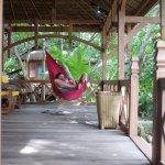 Terrasse de notre bungalow
