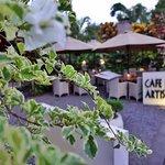 The Signage at Cafe des Artistes Ubud - Bali