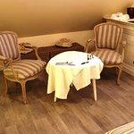 Salon de la suite romantique Volti