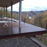 Jacuzzi auf der Terrasse - Wellnessbereich oberhalb des Hotels