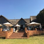 Dining at Askari Game Lodge